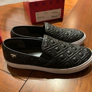 Tory Burch Jesse Quilted Sneaker - Size 8